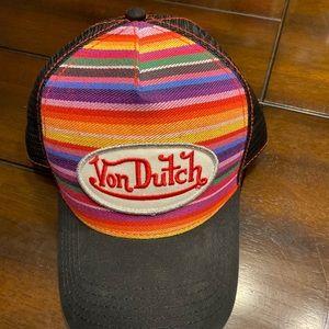 Von Dutch Trucker Hat - Aztec Pattern
